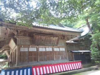 西奈弥羽黒神社の建物その他