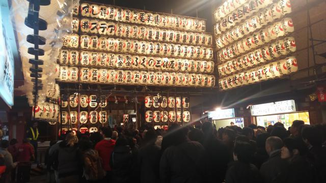 鷲神社のお祭り