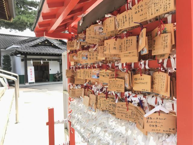"""""""沼袋氷川神社の絵馬かけ所"""""""