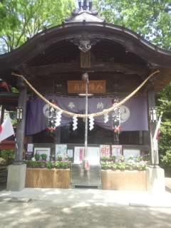 金村別雷神社の本殿