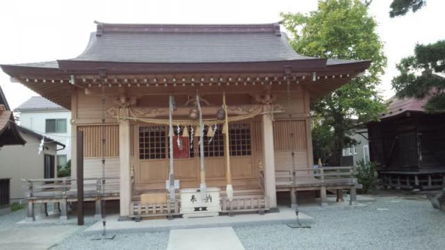 宮城県七郷神社の本殿
