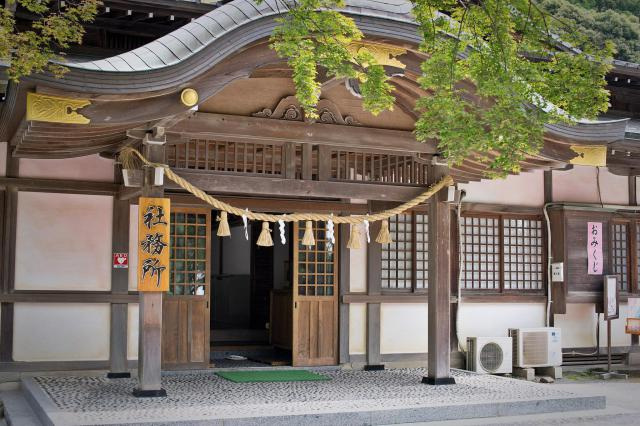 筑波山神社の本殿