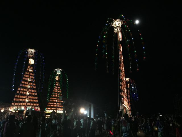 富山県諏訪神社のお祭り