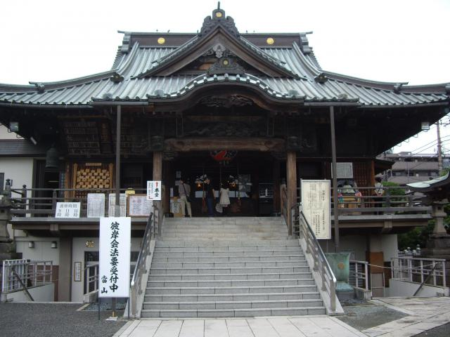 埼玉県本行院の本殿