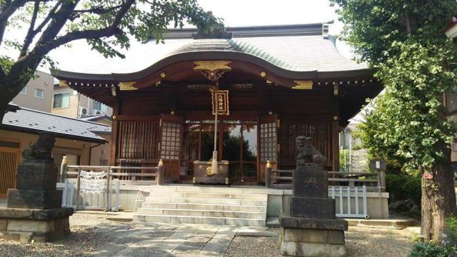 東京都田端八幡神社の本殿