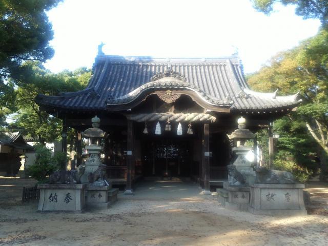 津田天満神社の本殿