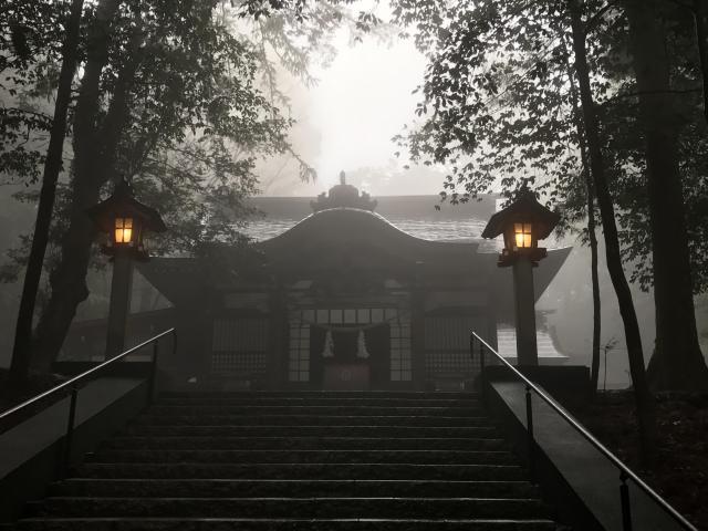 宮崎県霧島東神社の本殿