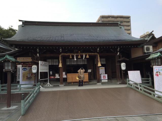 佐賀県佐嘉神社/松原神社の本殿