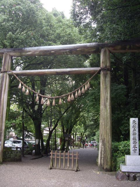 宮崎県天岩戸神社の本殿