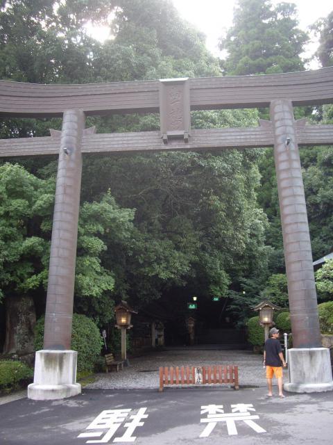 宮崎県高千穂神社の鳥居