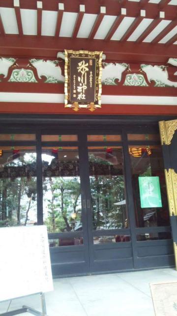東京都中野氷川神社の本殿