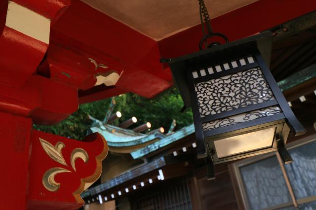 東京都御田八幡神社の本殿