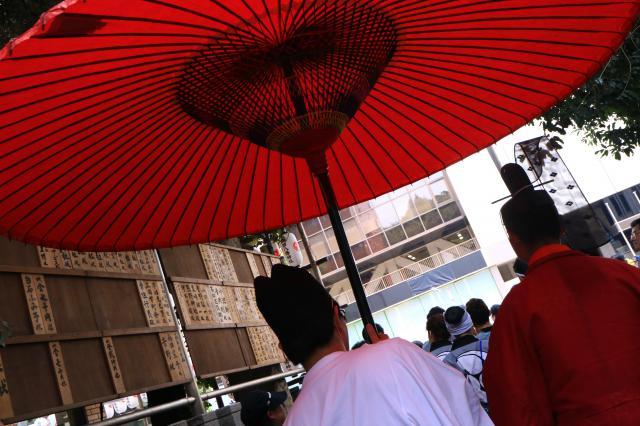 東京都御田八幡神社のお祭り