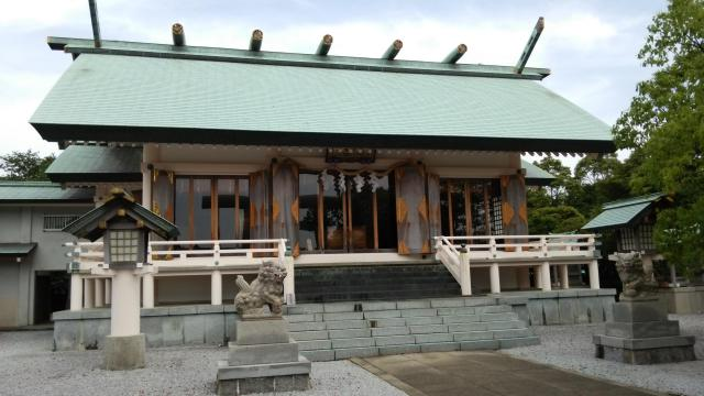 鹿児島県屋久島大社の本殿