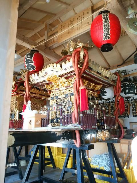 五所神社のお祭り