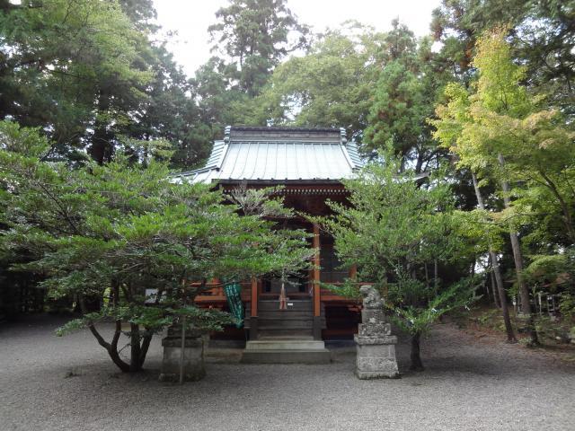 神奈川県石楯尾神社の本殿
