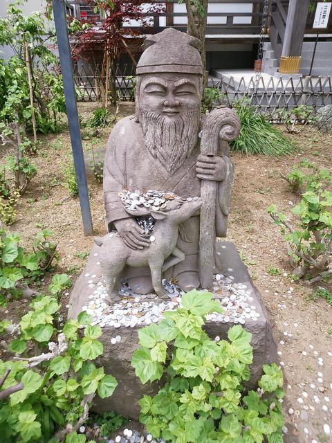 妙隆寺(神奈川県鎌倉駅) - 像の写真