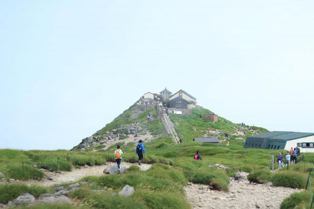 山形県月山神社の本殿