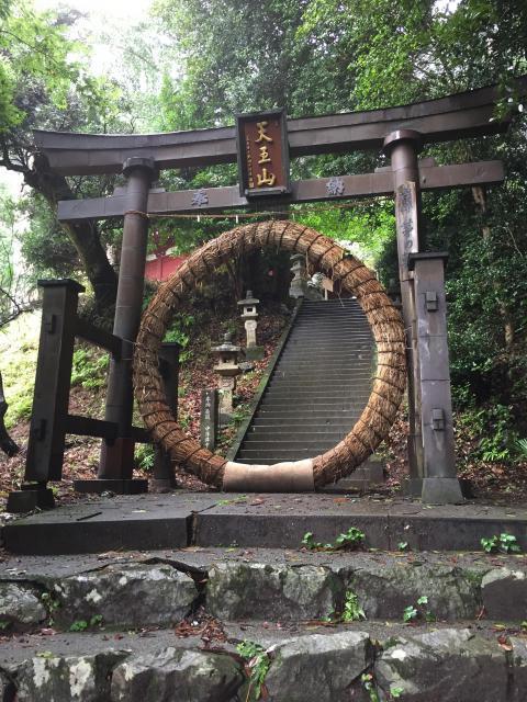 埼玉県八王寺(竹寺)の鳥居