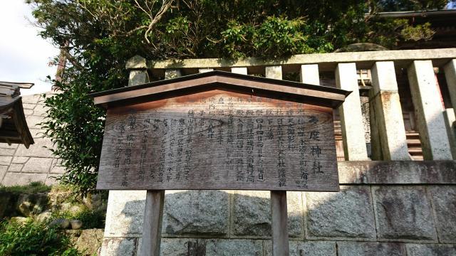滋賀県多度神社の歴史