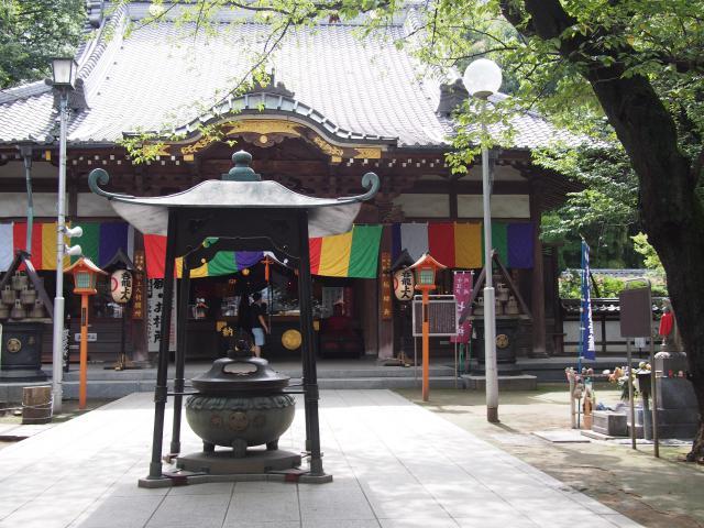 埼玉県蓮馨寺の本殿