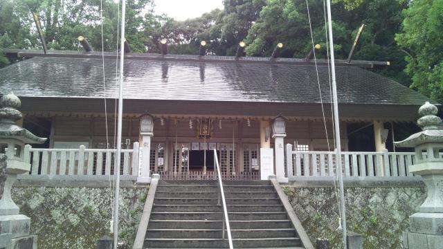 黒髪神社の本殿