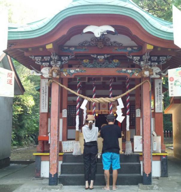 鹿児島県揖宿神社の建物その他