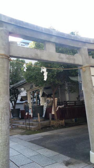東京都椙森神社の本殿