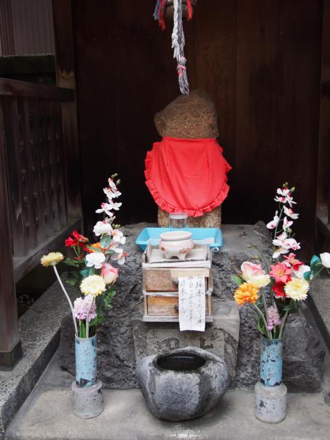 秋葉神社の仏像