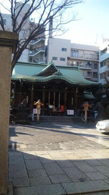 東京都鐵砲洲稲荷神社の写真