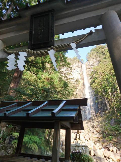 飛瀧神社の鳥居