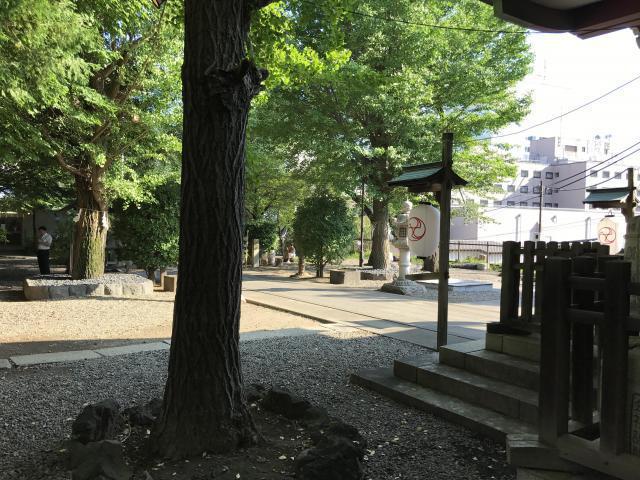 市谷亀岡八幡宮の建物その他