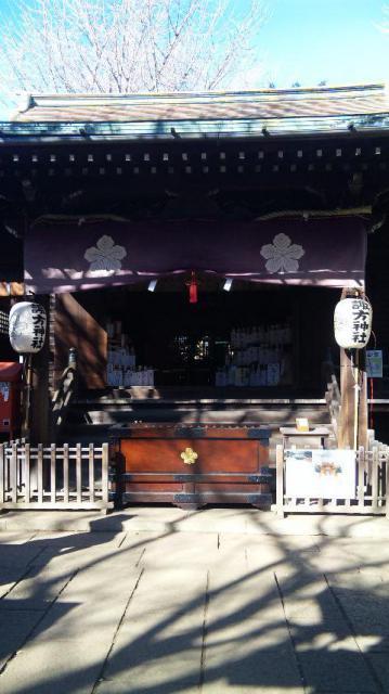 諏方神社の本殿