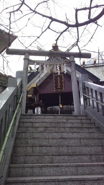元三島神社の鳥居