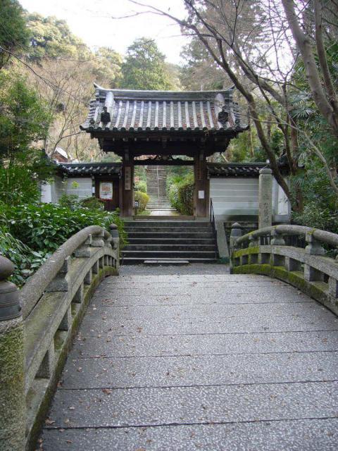 来迎院(泉涌寺塔頭)の山門