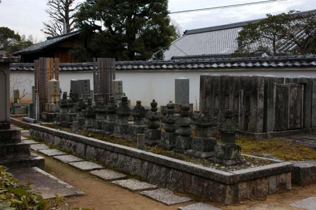 大通院(妙心寺塔頭)のお墓