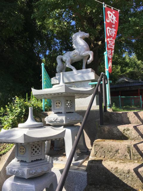 七狩長田貫神社の像