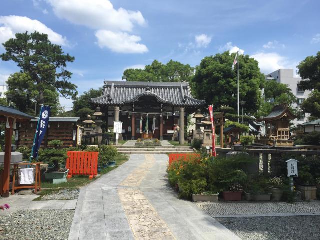 大阪府蒲田神社の建物その他