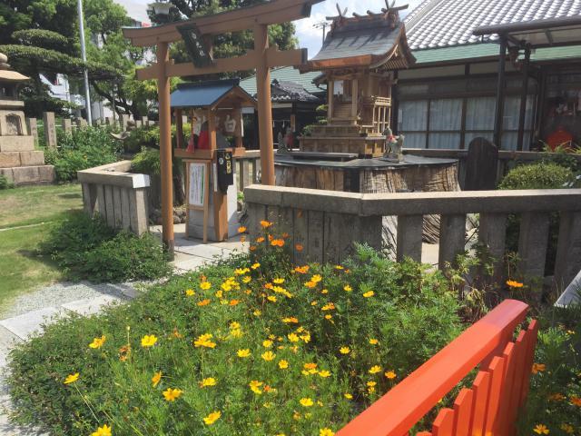 大阪府蒲田神社の末社