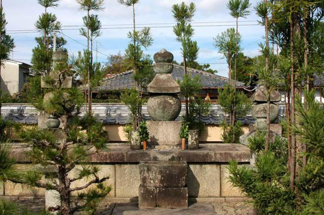 総見院(大徳寺塔頭)のお墓