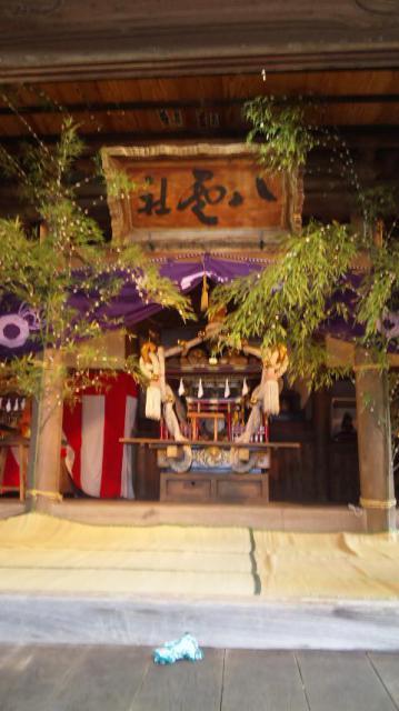 神奈川県八雲神社のお祭り