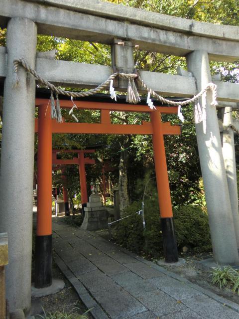 京都府武信稲荷神社の鳥居