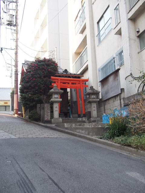 東京都繁栄稲荷神社の写真