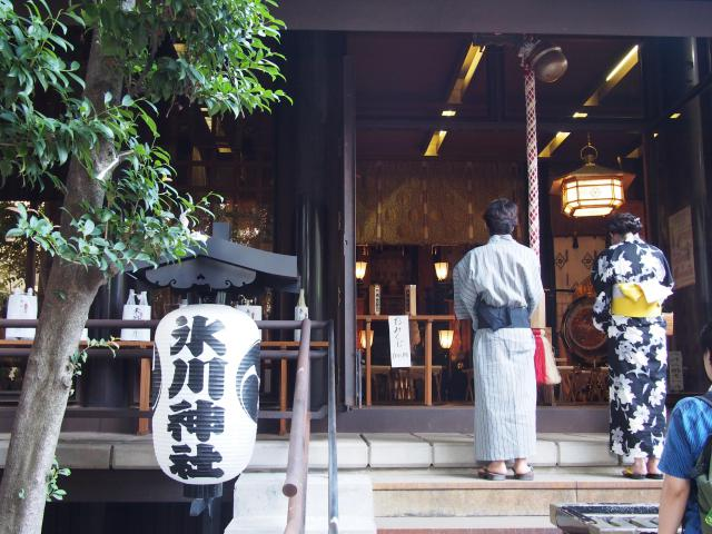 高円寺氷川神社の本殿