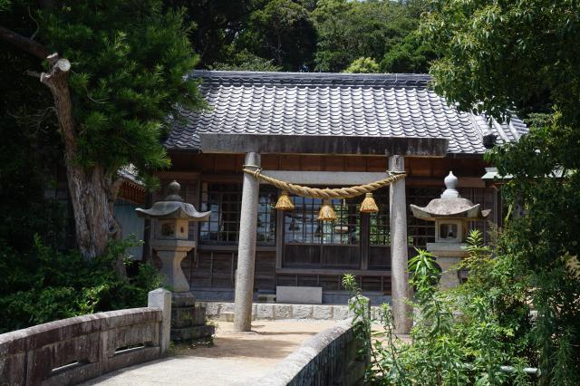 阿奈志神社の建物その他