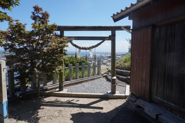 阿奈志神社の鳥居