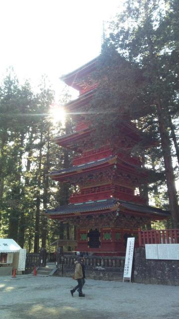 日光東照宮の塔