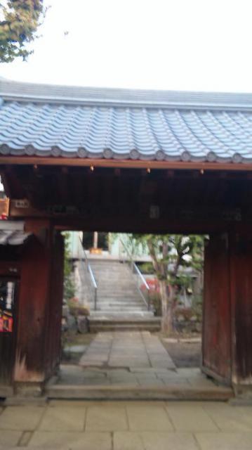 根生院の山門