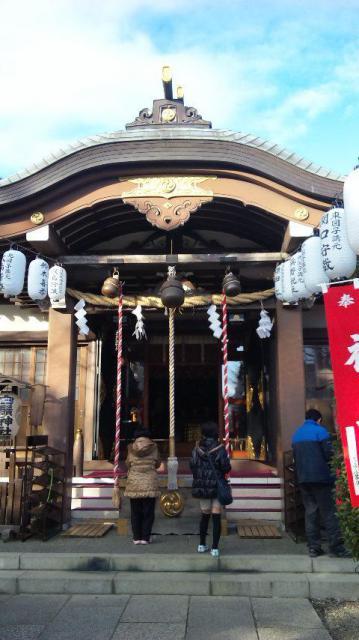 東京都白鬚神社の本殿