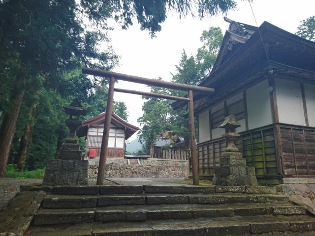 京都府豊受大神社の鳥居